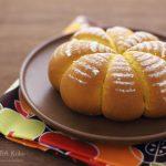 ぽってりかぼちゃパン