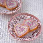 ピンクのハートパン