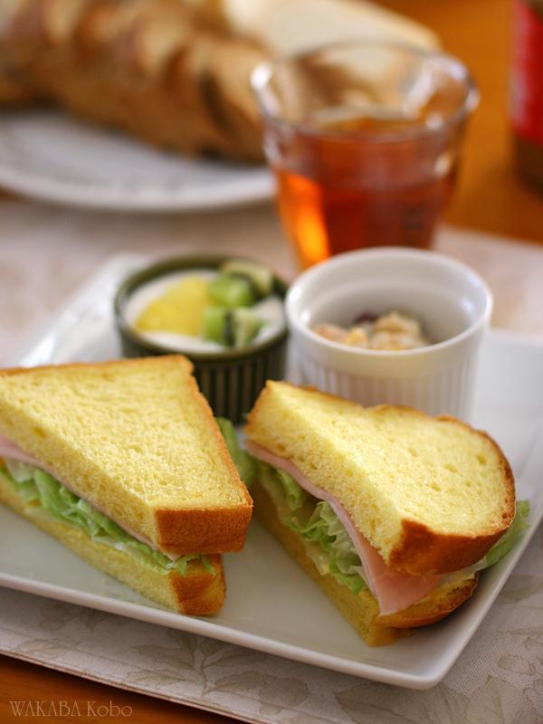 かぼちゃパン(サンドイッチ)