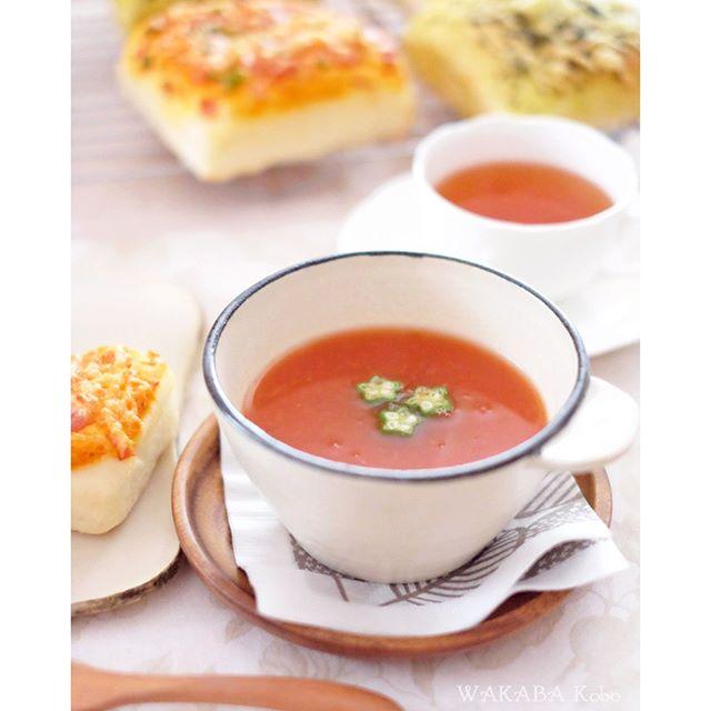 さっぱりトマトスープ