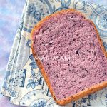 紅いも黒ごま食パン
