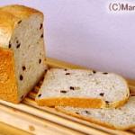 ふすまレーズン食パン