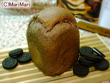 オレオクッキー食パン