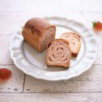 いちごとチョコのミニ食パン