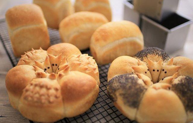 はりねずみちぎりパン(干支パン)[Recipe]